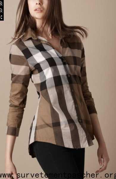 46d5395fd42 Femme Pas Cher Prix chemise chemise Femme Chemise Burberry OqwEHxE1X